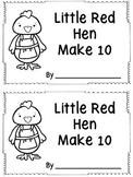 Little Red Hen Make 10 Booklet