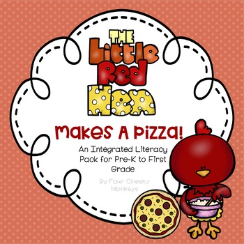Little Red Hen Makes A Pizza - literacy pack