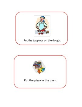 Little Red Hen Makes Pizza Activity Pack