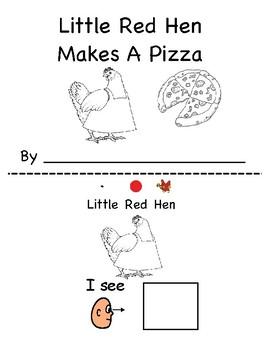 little red hen makes a pizza activities