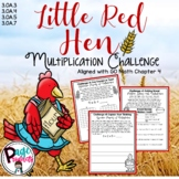 Little Red Hen Multiplication Challenge (Aligned with GO Math Chapter 4)