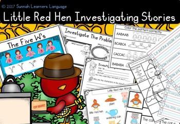 Little Red Hen Pack 3