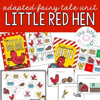 Little Red Hen Preschool Language Unit