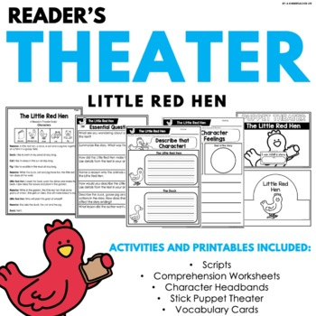 Little Red Hen Reader's Theater