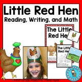 Little Red Hen Reading, Writing, and Math