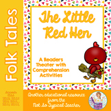 Readers Theater Folk Tale Little Red Hen RL1.1, RL1.2, RL2.1, RL2.2  RL3.2