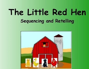 Little Red Hen Retelling/Sequencing