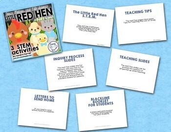 Little Red Hen STEM Challenges