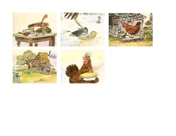 Little Red Hen - Sequencing Activity