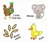 Little Red Hen Story Cards {Free}