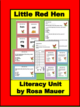 Little Red Hen Book Unit