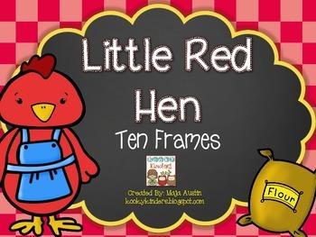 Little Red Hen Ten Frames