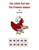 Little Red Hen Ten Frames Games