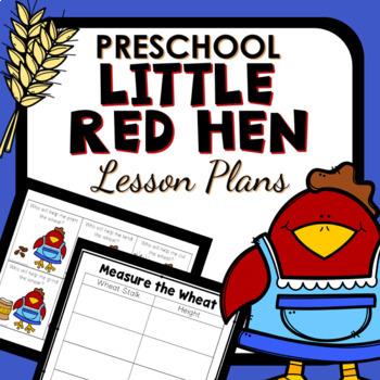 Little Red Hen Theme Preschool Lesson Plans
