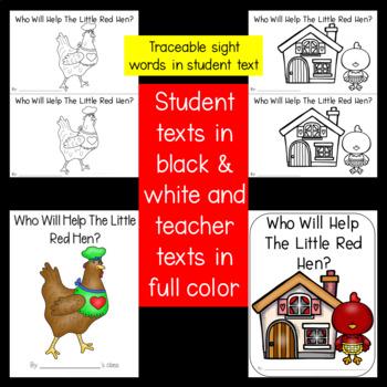 Little Red Hen Unit Activities