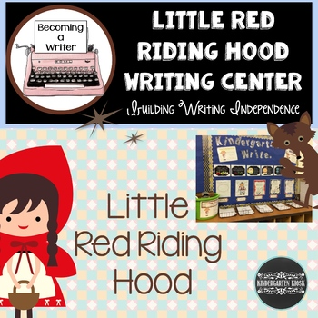 Little Red Riding Hood Independent Writing Practice