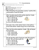 Sequence and Retell- The Little Red Hen by Byron Barton
