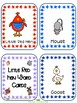Little Red Hen word cards for IKEA TOLSBY frames