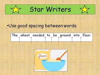 Little Red Hen's Key Ingredients to Good Sentence Writing