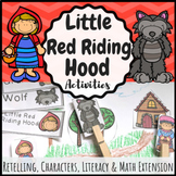 Little Red Riding Hood Activities - Print & Digital