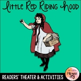 Little Red Riding Hood Readers Theater Play & Activities