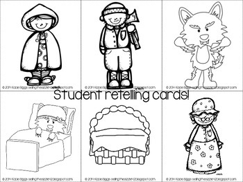 Little Red Riding Hood- A Common Core Aligned Fairy Tale Unit!