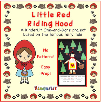 Little Red Riding Hood A One And Done Project By Kinderlit Tpt