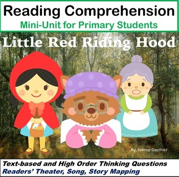 Little Red Riding Hood - A fairy tale primary literacy unit
