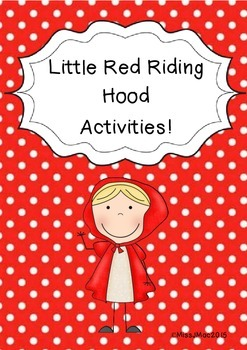 Little Red Riding Hood Activities Pack