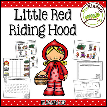 Little Red Riding Hood Activities (Pre-K, Preschool)