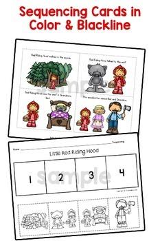 little red riding hood activities pre k preschool by karen cox. Black Bedroom Furniture Sets. Home Design Ideas