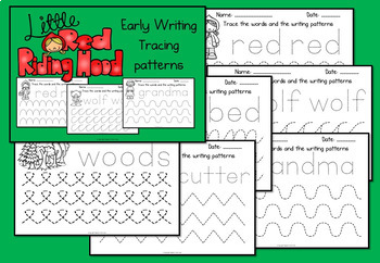 Little Red Riding Hood Activity Pack