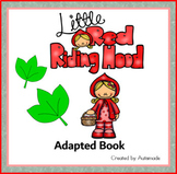 Little Red Riding Hood Adapted Book(Special Education and Autism resource)