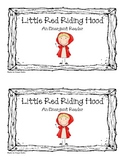 """""""Little Red Riding Hood: An Emergent Reader"""" (Sight Word Focus: I, see)"""