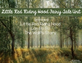 Little Red Riding Hood Around the World Literacy Unit incl