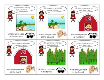 Little Red Riding Hood Book Companion for Pre-K/K