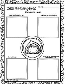 CCSS Little Red Riding Hood Book Study + Activity Bundle 25 Pages