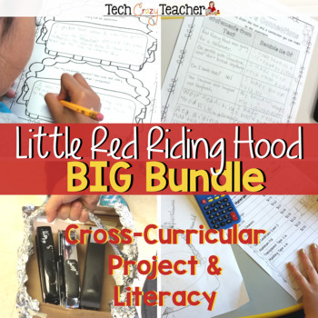 Project Based Learning with STEM: Little Red Riding Hood Bundle