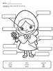 Little Red Riding Hood/Caperucita Roja Body Parts Label