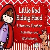Little Red Riding Hood Math and Literacy Center Activities – Bundle