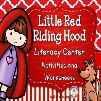 Little Red Riding Hood Math and Literacy Center Activities