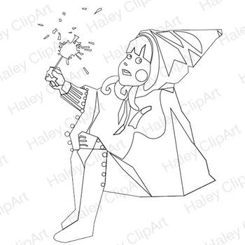 Little Red Riding Hood (Clip Art)