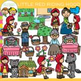 Little Red Riding Hood Clip Art {Fairy Tale Clip Art}