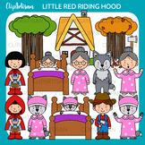 Little Red Riding Hood Clip Art, Fairytale Printable