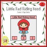 Little Red Riding Hood Clip Task Cards