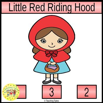 Little Red Riding Hood Task Cards
