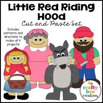 Little Red Riding Hood Craft Bundle