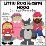 Little Red Riding Hood Craft Bundle   Fairy Tale Craft Activities   Retelling