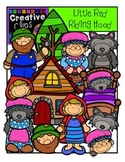Little Red Riding Hood {Creative Clips Digital Clipart}