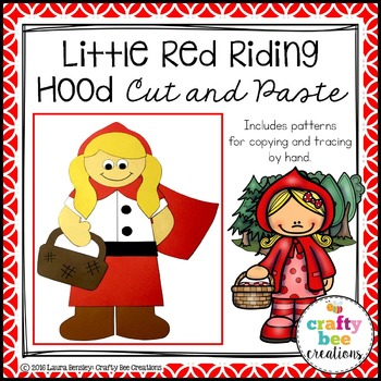 Little Red Riding Hood Cut and Paste